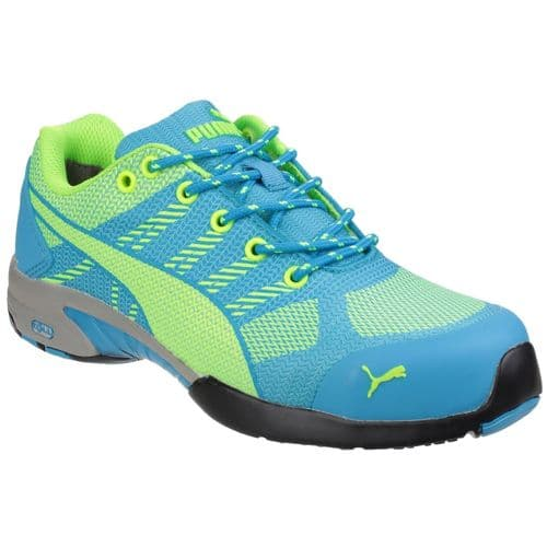 Puma Safety Celerity Knit Ladies Safety Trainers Blue